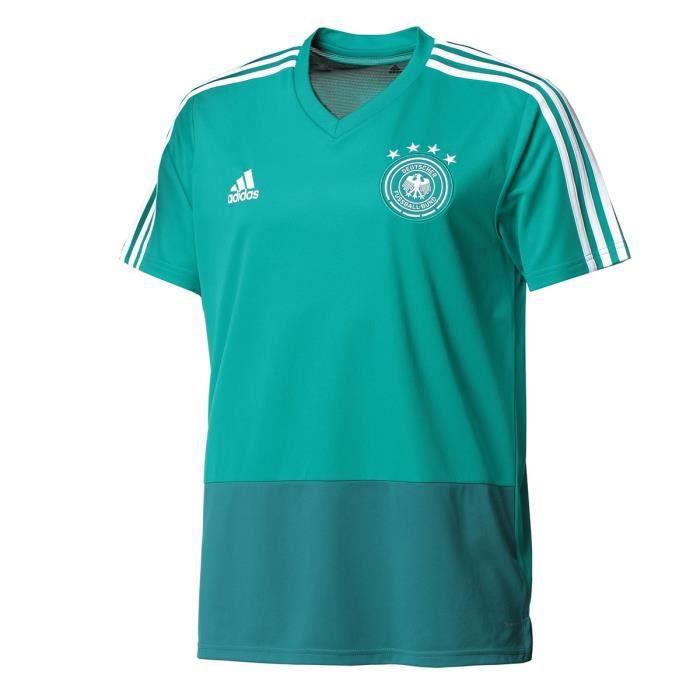 ADIDAS Maillot de Football DFB Allemagne Training Jersey - Homme - Bleu