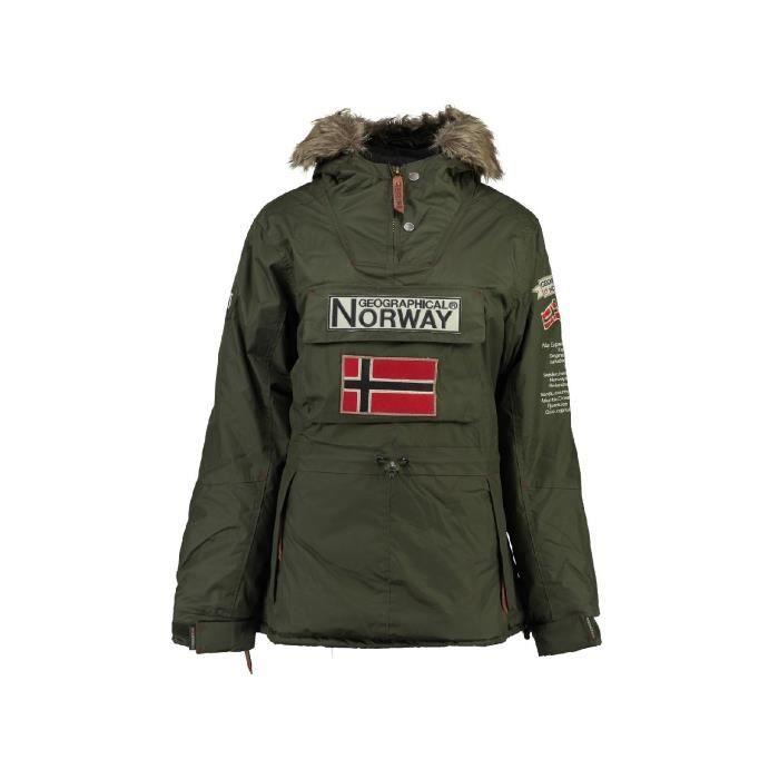 Parka Enfant Geographical Norway Bridget New Kaki