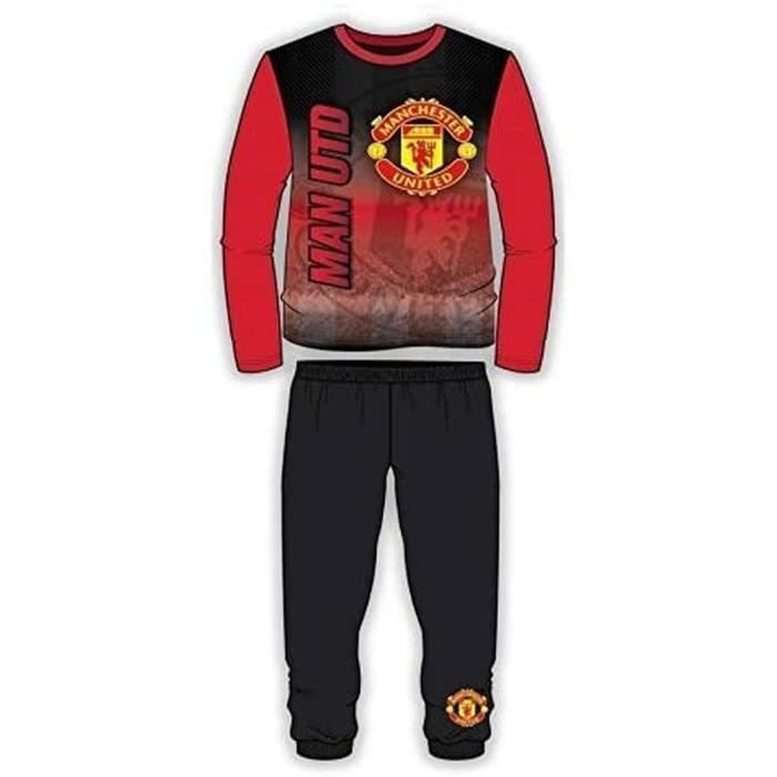 BNWT Official 2017 Football Lfc Mufc CFC Pyjama Manches Longues Âges 4 Pour 10 Ans