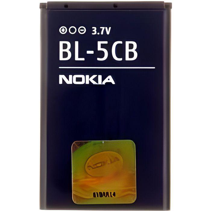 Batterie Nokia BL5CB d'origine (BL-5CB , BL 5CB)
