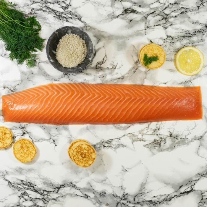 Filet royal de saumon fumé - 600g - Ecosse