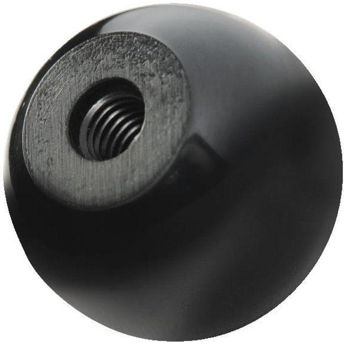 Boutons Boule Bakélite diametre(mm): 44,h(mm): 43,filetage: M16
