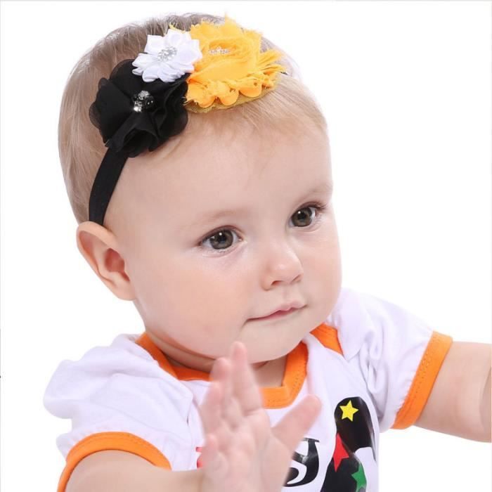 4pcs coiffe exquise bandeau pour enfants BANDEAU -