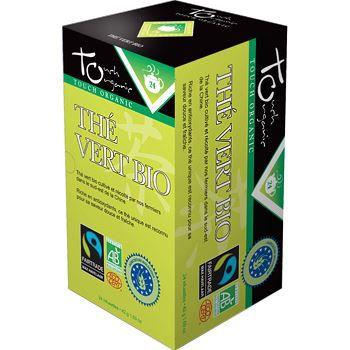 Touch Organic The vert BIO 24 sachets 48g