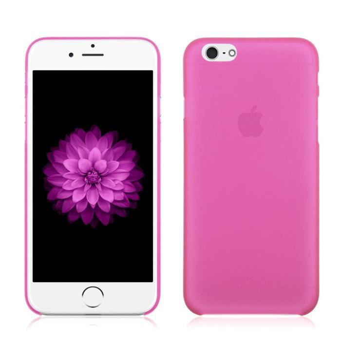 coque iphone 6 plus rose fushia
