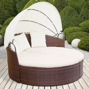 canap de jardin rond modulable en r sine tress achat vente fauteuil jardin canap de. Black Bedroom Furniture Sets. Home Design Ideas