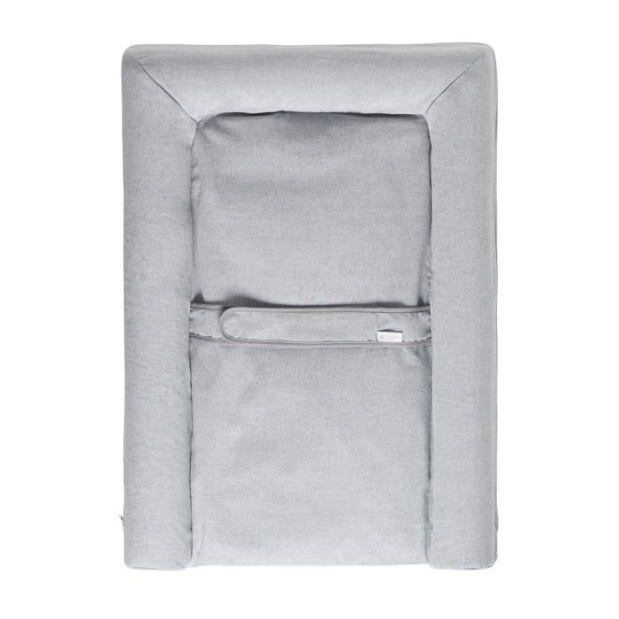 1 Eponge Blanc Gris 153261.0 Candide Matelas /à Langer PVC