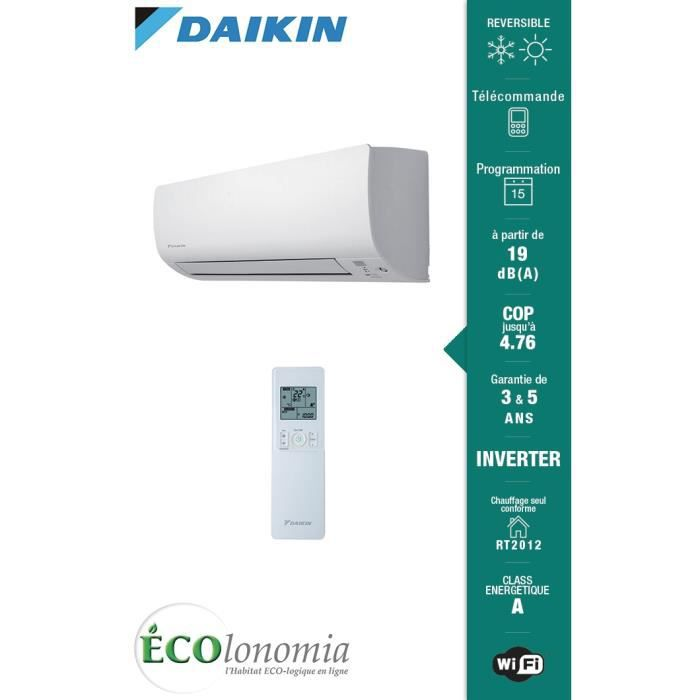 daikin ftxs50k split mural daikin ftxs multisplit r versible inverter daikin achat vente. Black Bedroom Furniture Sets. Home Design Ideas