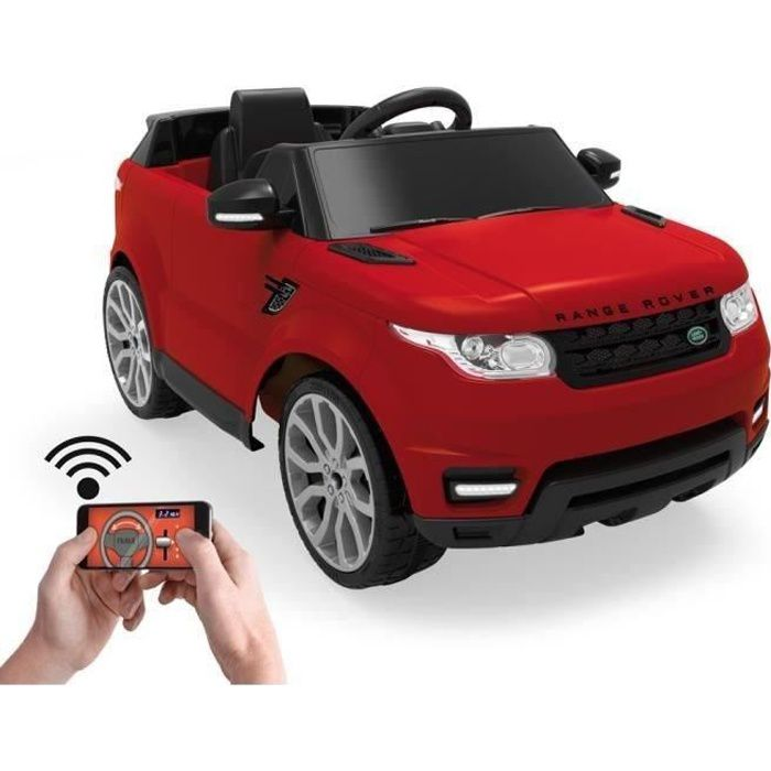 feber voiture electrique enfant range rover 6 volts t l command e achat vente voiture enfant. Black Bedroom Furniture Sets. Home Design Ideas