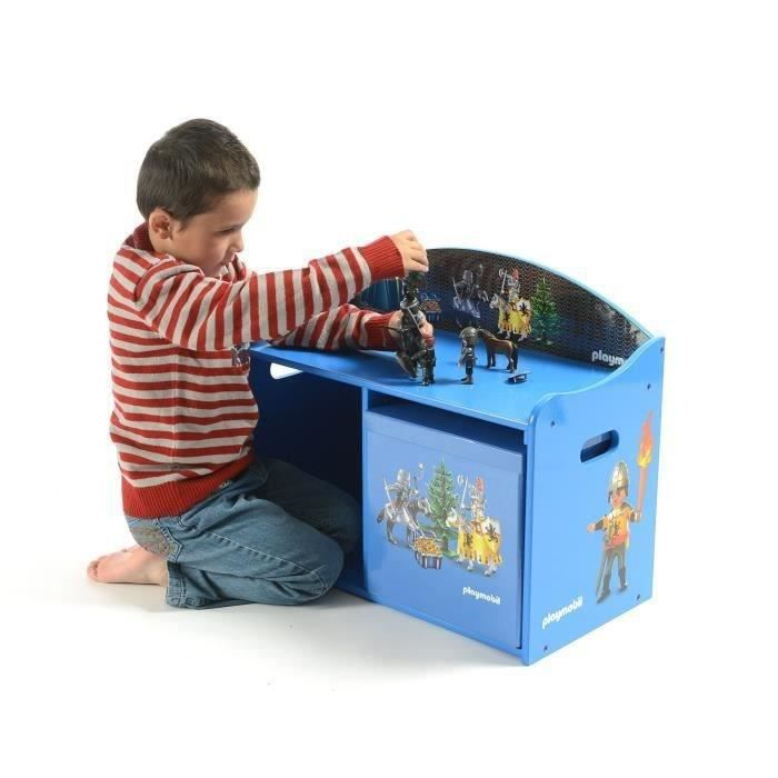 playmobil banc de rangement et de jeu chevaliers achat. Black Bedroom Furniture Sets. Home Design Ideas