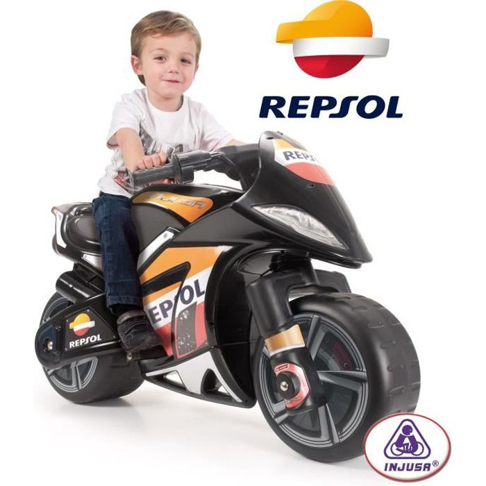 injusa moto lectrique enfant repsol moto wind 6 v achat vente moto scooter cdiscount. Black Bedroom Furniture Sets. Home Design Ideas
