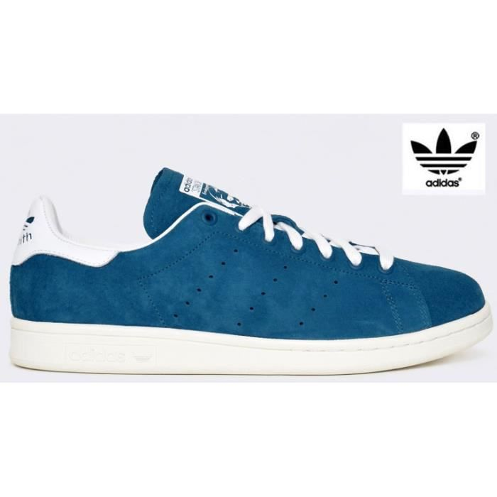 chaussure adidas stan smith bleu. Black Bedroom Furniture Sets. Home Design Ideas