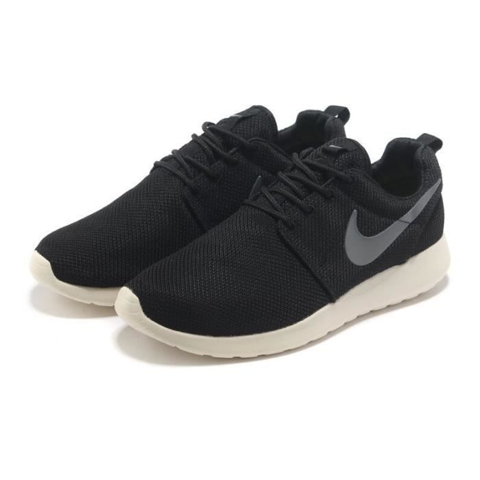 mixte basket roshe sports running nike noir noir tu achat vente basket cdiscount. Black Bedroom Furniture Sets. Home Design Ideas
