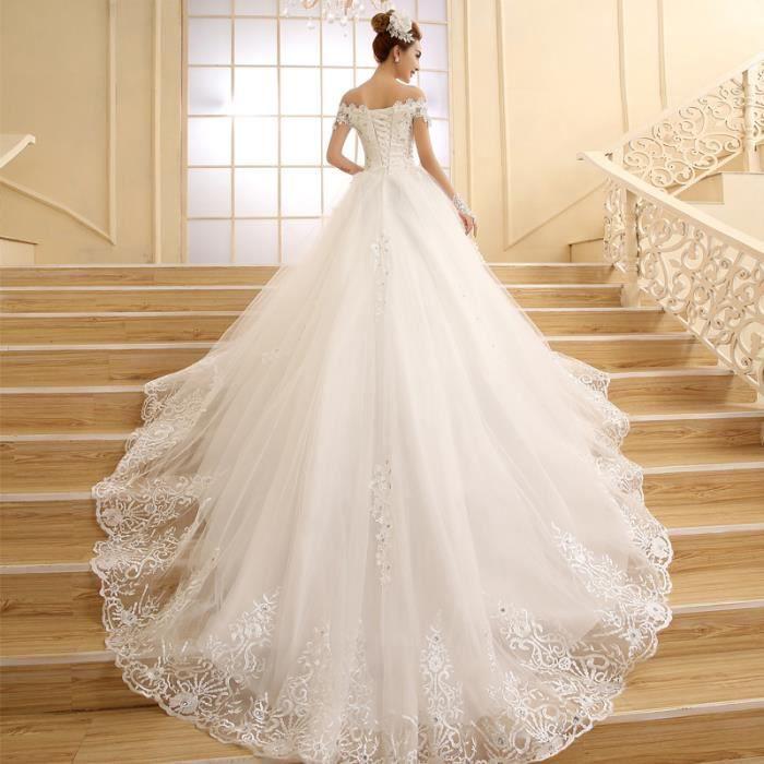 Robe de novia 2016 Nouvelle Mariée Princesse