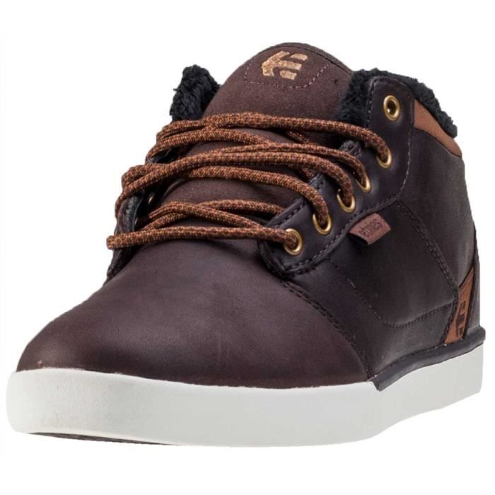 Etnies Jefferson Mid Hommes Bottes chukka Brown White - 11 UK