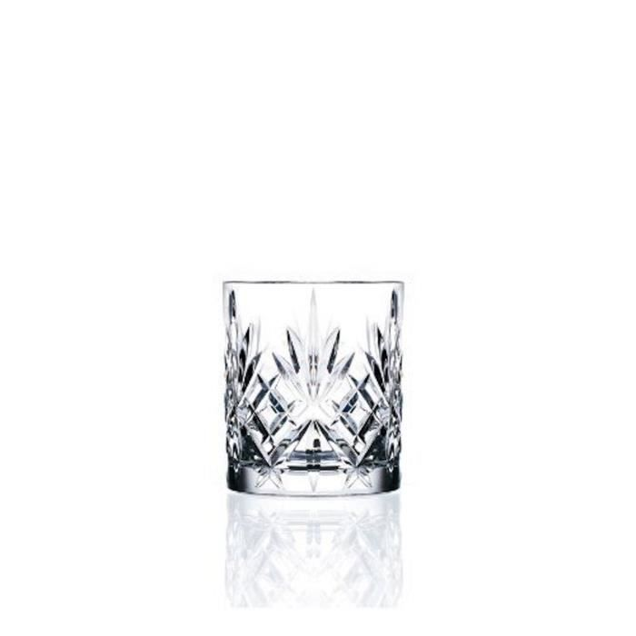 rcr cristal set de 6 verres whisky melodia 230 ml achat. Black Bedroom Furniture Sets. Home Design Ideas
