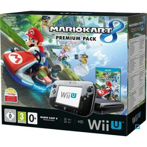 consoles wii u achat vente pas cher cdiscount. Black Bedroom Furniture Sets. Home Design Ideas
