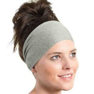 Élastique Bandeau Sport Gym Yoga Bandeau Turban Extensible Cheveux Bande 1pcs