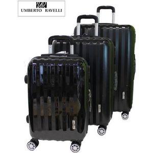 SET DE VALISES Set de 3 valises Abs & Polycarbonate Umberto Ravel
