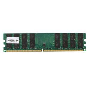 CARTE MÉMOIRE  4GB 4G Memoire Centrale DDR2 800MHZ PC2-6400 Memo