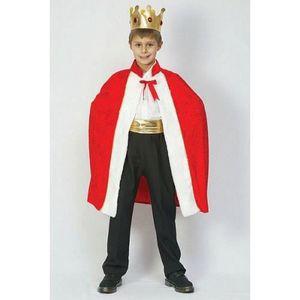 DÉGUISEMENT - PANOPLIE Déguisement Enfant Garçon Costume Roi 7 - 10 ans