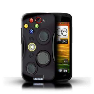 COQUE - BUMPER Coque de Stuff4 - Coque pour HTC One S - Noir Xbox