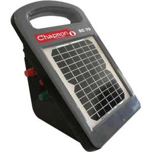 CLÔTURE ÉLECTRIQUE Electrificateur de clôture solaire SC70 à batterie