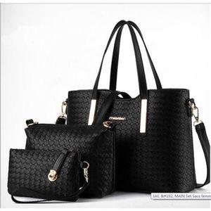 SAC À MAIN Set : sac à main + sac à bandoulière + pochette
