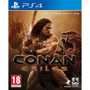 JEU PS4 Conan Exiles Edition Day One PS4 + 1 Porte cle + 2