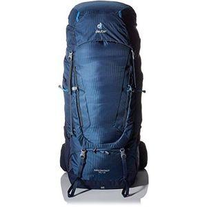 Midnight-Navy Deuter Aircontact 45 10 Sac /à dos loisir 78 centimeters 55 Bleu