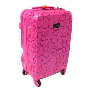 VALISE - BAGAGE Valise trolley cabine ABS 'Lollipops' rose - 50x34