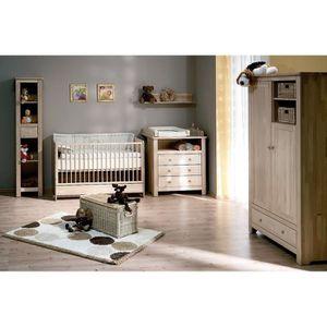 Chambre bébé Bétula en Bouleau Massif - Couleur Marketing ...
