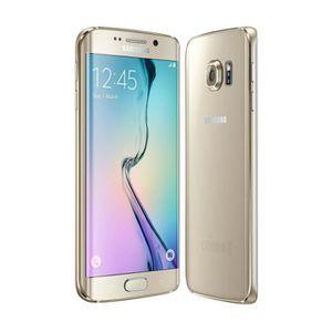 SMARTPHONE SAMSUNG G925 GALAXY S6 EDGE 32GO OR Débloqué tout