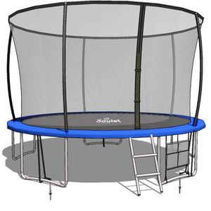 filet de s/écurit/é randabdeckung Body /& Mind 250/ cm Outdoor Trampoline de jardin Kit de trampoline