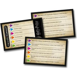 CARTE A COLLECTIONNER Harry Potter Trivial Pursuit Jeu