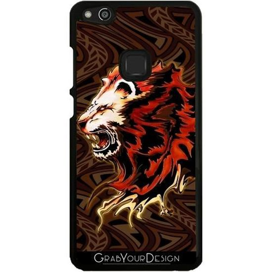 Coque pour Huawei P10 Lite - Roi Lion Roar y v - Achat coque ...