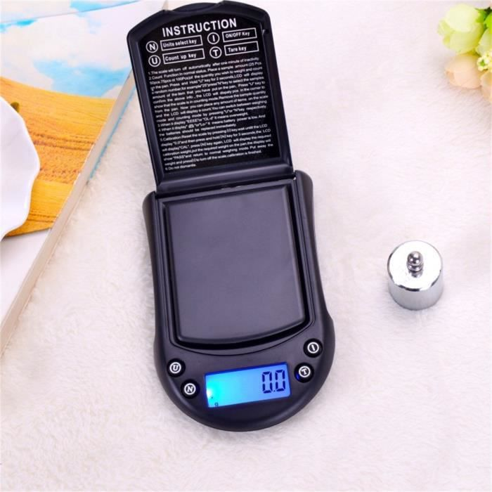 500g-0.01g High Precision Digital Electronic Scale for Jewelry Reloading Kitchen Paontry54