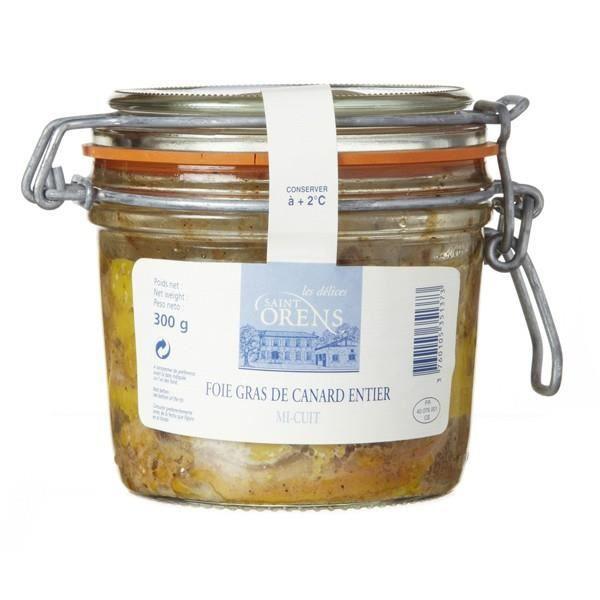 Foie gras de canard entier des Landes, 300gr