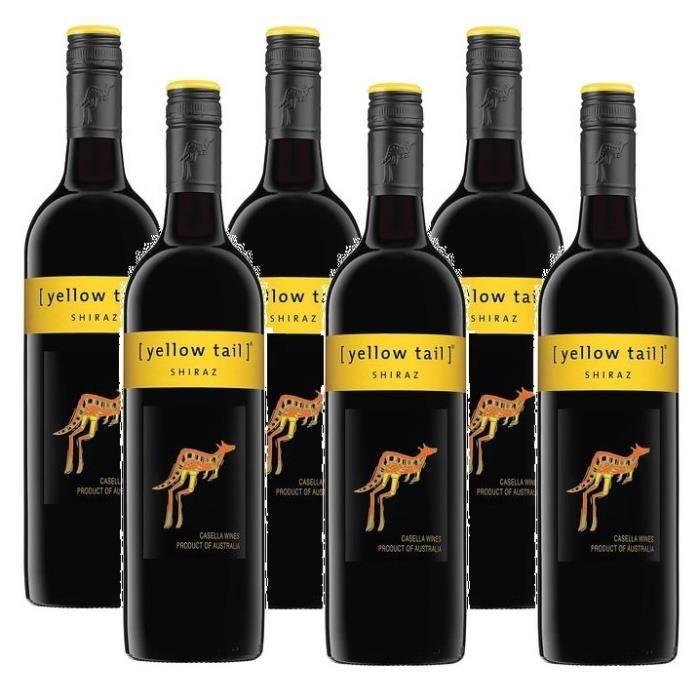 Yellow Tail Shiraz Vin Rouge 6 x 0,75l