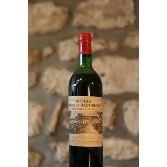 Vin rouge, Château Larrivet Haut Brion 1975 Rouge