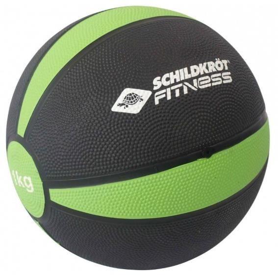 medicine ball 19,5 cm 1 kg vert / noir