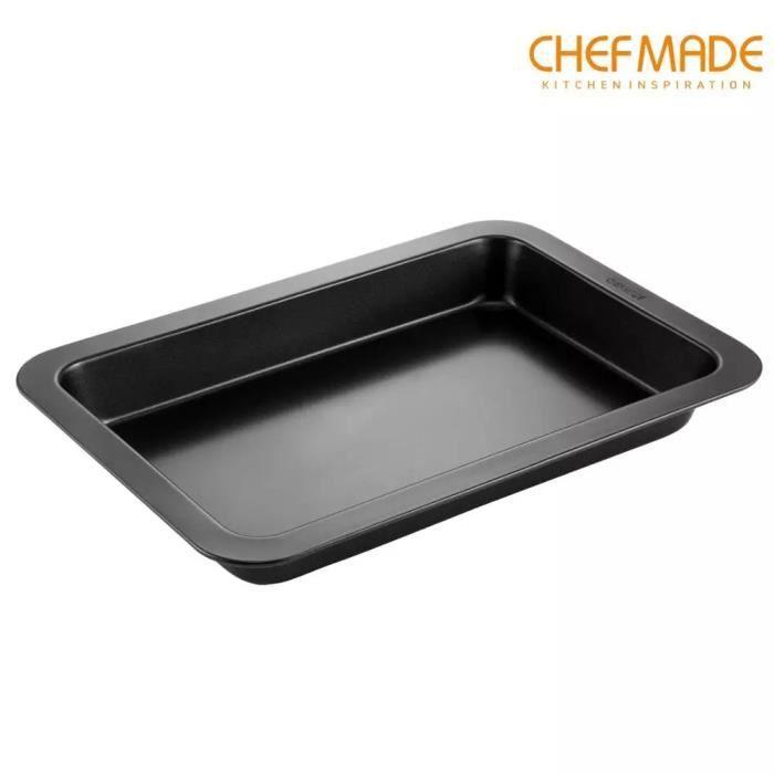 CHEFMADE 11 pouces Moule rectangulaire. Moule à gâteau