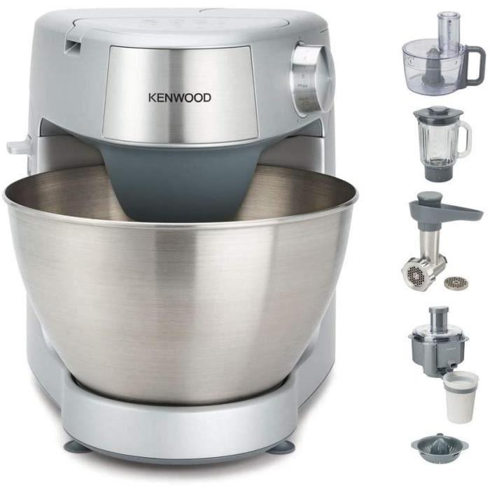 SET ACCESSOIRE CUISINE Kenwood KHC29P0SI Prospero Robot de cuisine en plastique Argenteacute 43 l1023