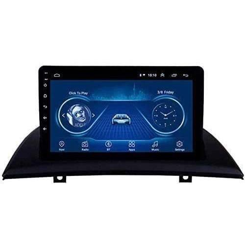 AUTORADIO Autoradio, pour BMW X3 E83 de 2004 &agrave 2012, Double Din GPS Navigation Voiture st&eacuter&eacuteo Miroir Lien195