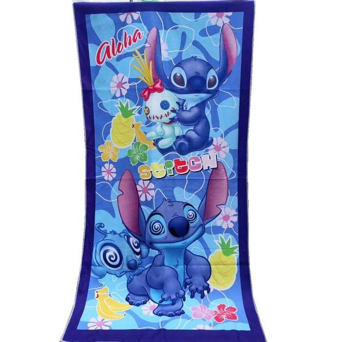 Serviette de bain,Serviette de plage en microfibre 100% Polyester, Lilio et point de couture, serviette de - Type stitch 3-70x140cm
