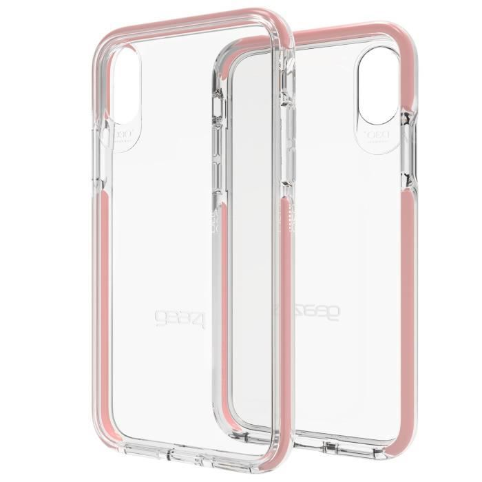 Coque Piccadilly Rose gold pour iPhone X