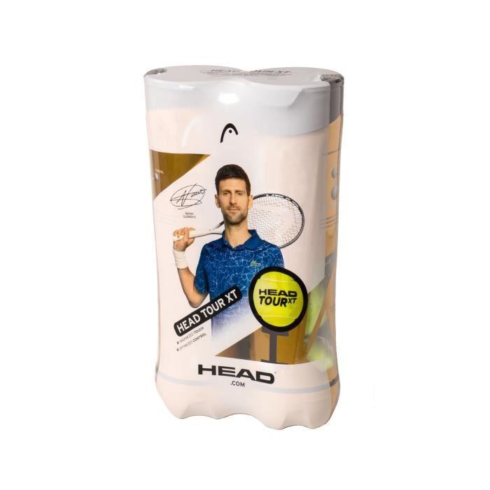Bipack de 4 balles HEAD ATP TOUR XT