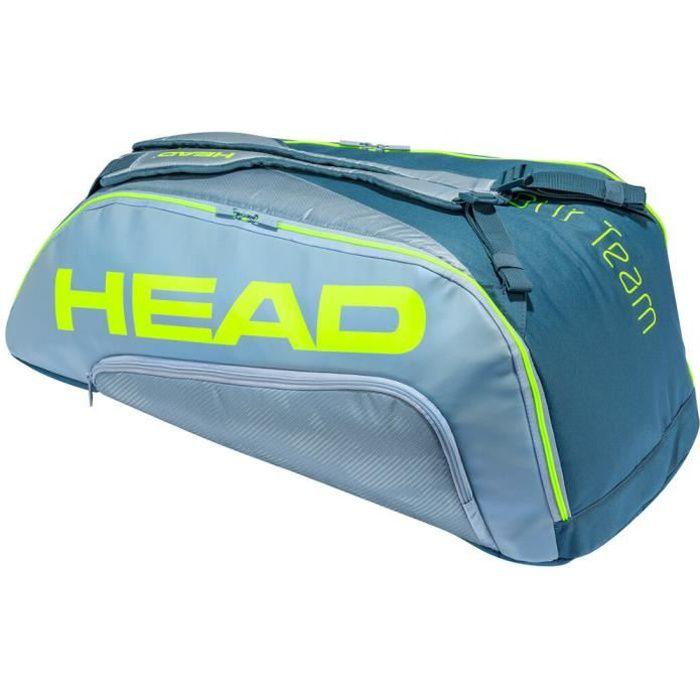 Sac de Tennis Head Tour Team Extreme 9R Supercombi - Couleur:Gris Type Thermobag:6 raquettes