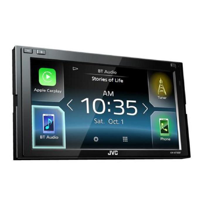 Autoradio Multimedia 2 DIN - Bluetooth - 6.8 pouces - KW-M730BT