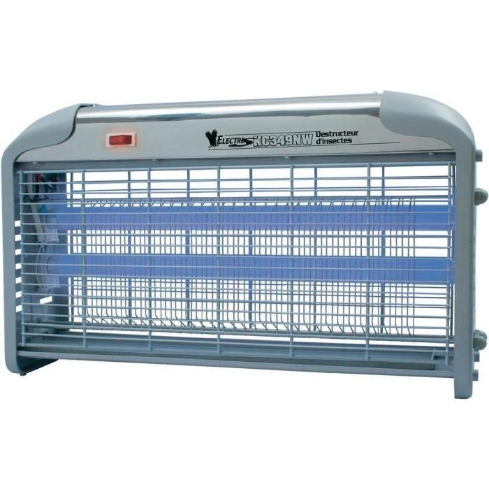 LAMPE UV 30W ELECTRIQUE DESTRUCTEUR DE MOUCHE MOUSTIQUE INSECTES CAMIPNG JARDIN MAISON